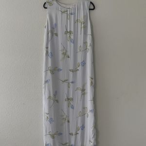 Talbots | Floral Breezy Maxi Dress / Size: 8